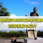 箱根駅伝交通規制2021神奈川県いつからいつまで?横浜新道の渋滞情報も【1月2日・1月3日】